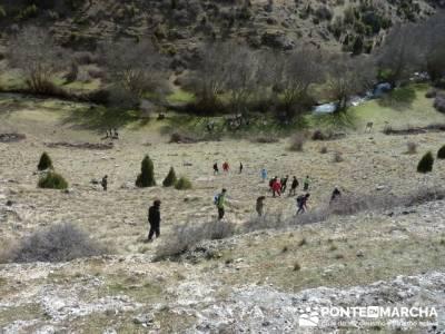 Senderismo Segovia - Riberas de los ríos Pirón y Viejo; mochilas diferentes; mochila para